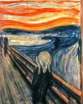 O Grito (1893) -  Edvard Munch